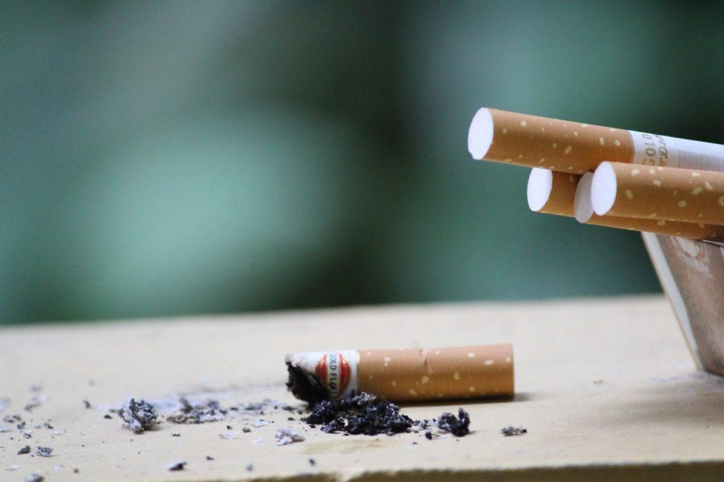 Rauchen bei MS